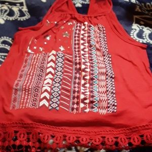 Fourth of July tank top